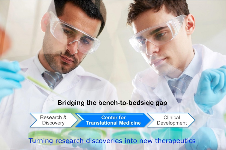People in Center for Translational Medicine Lab