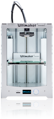 Ultimaker 2 Extended+ Alteration (for PCL and Hydrogel Extrusion)